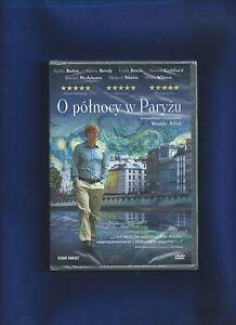 O północy w Paryżu  DVD - Reżyser: Allen Woody - Film nowy nie otwierany