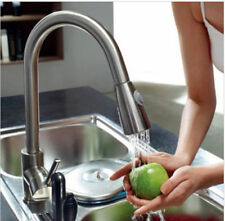 Kitchen Pull Out Spray Faucet Single Handle Mixer Tap Single Handle Deck Mounted