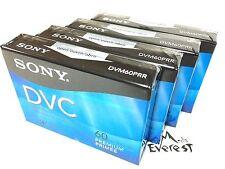 Sony DVM60PRR Premium Mini DV Minidv Camcorder Digital Video 60min Tape 4pack