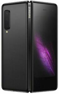 """Samsung Galaxy Fold F900 Black 7.3"""" foldable screen 12GB/512GB Phone By FedEx"""
