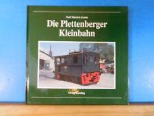 DIe Plettenberger Kleinbahn Wolf Dietrich Groote Nebenbahndokumentation Band II