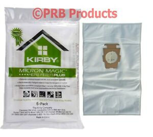 Kirby Hepa Filter MicroAllergen PLUS Vacuum Bag Universal Avalir Sentria Diamond