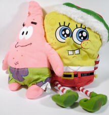 SpongeBob SquarePants & Patrick plush stuffed cartoon characters NickelodeonTV