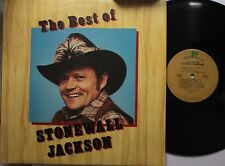 Country Lp Stonewall Jackson The Best Of On Realm