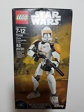 LEGO Star Wars Model 75108 - Clone Commander Cody - Ages 7-12 years - 82 pc Set