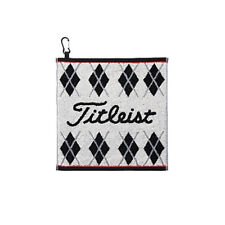 Titleist JAPAN Golf Hand Towel with hook White Black AJTWH51 2019 New