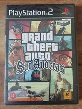 Grand Theft Auto: San Andreas PS2 - Rare Black Box UK PAL Version New & Sealed