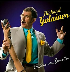 CD ALBUM DIGIPACK- ESPECE DE BONOBO - RICHARD GOTAINER - 14 TITRES