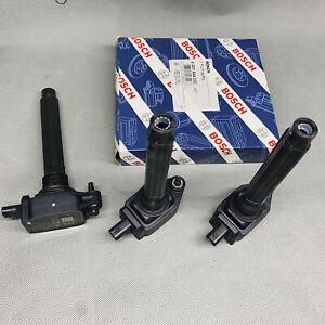 Bosch Ignition Coil 0221504048 3PCS Set For Chrysler Dodge Jeep Ram 3.2L 3.6L