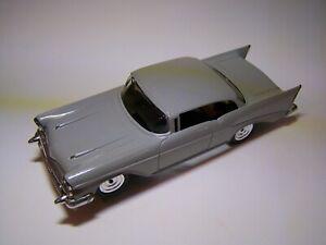 "Vintage  ""Aurora""  Thunderjet 1957 Chevrolet slot car in ""O"" gauge."