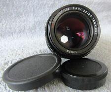 CARL ZEISS JENA S (SONNAR) F3.5 135mm PORTRAIT/TELEPHOTO LENS - M42 SCREW FIT