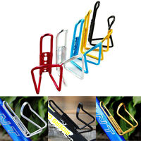 4 PCS Cycling Bike Bicycle Silver Aluminum Alloy Water Bottle Holder Cages