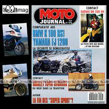 MOTO JOURNAL N°978 RAIDS Scooters VESPA GEORGES MONNERET & MAICOMOBIL WIM DUSSEL