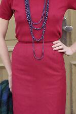 Damen Rock skirt Pepitamuster rot red 80er True VINTAGE 80´s women elegant
