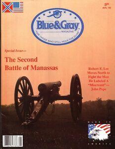 Blue & Gray Aud92 V9 N6 2nd Manassas Robert E. Lee John Pope Bull Run Traveller