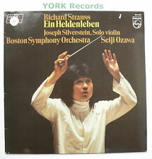 6514 222 - R STRAUSS - Ein Heldenleben SILVERTSTEIN / OZAWA - Ex Con LP Record