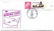 FFC 1978 Inaugural Flight New York JFK Los Angeles Seaboard World Airlines USA