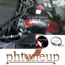FIT: MAZDA 6 2.5 2.5L DOHC L4  2009-2012 RED AIR INTAKE KIT INDUCTION SYSTEMS