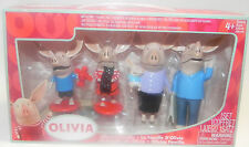 OLIVIA Olivia the Pig Action Figures - Mom, Dad, Olivia, Ian and William by Oliv