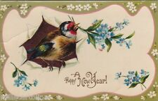 * HAPPY NEW YEAR - Bird and Flowers