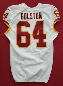 #64 Golston Washington Redskins NFL Locker Room Game Issued Jersey