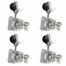 4 pcs Wilkinson Open Frame Bass Tuner Tuning Peg Chrome Right Handed WJBR-200-CR