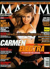 UK Maxim 5/04,Carmen Electra,May 2004,NEW