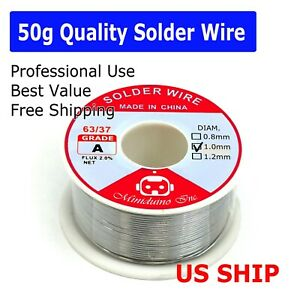Miniduino Lead Free Solder Wire Sn99.3 Cu0.7 Rosin Core for Electronic 1.0mm