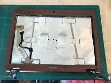 VGN-CS21S Sony Vaio LCD back cover lid with hinges, camera, flex, wifi