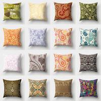 JW_ BH_ Ethnic Paisley Printed Throw Pillowcase Waist Cushion Cover Home Decor