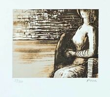 "Henry Moore ""80TH ANNIVERSARY PORTFOLIO"" Original Lithograph S/N"
