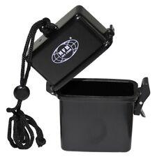 Wasserdichte Box Kunststoffbox Kunststoff mit Nackenband schwarz