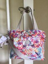 Kipling Peggy Tote Shoulder Bag Garden Happy Multi Floral Print