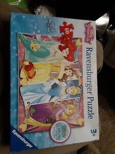 Ravensburger - Disney Princess Heartsong 60 Piece Glitter Jigsaw Puzzle new.