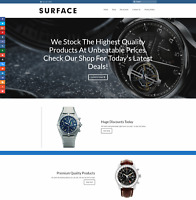 BREITLING WATCH Website Earn £351 A SALE|FREE Domain|FREE Hosting|FREE Traffic