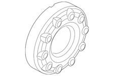 Genuine Ford Wheel Cap 5C3Z-1130-NA