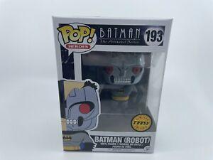 Funko Pop! Batman (Robot) #193 Batman The Animated Series Chase Limited Edition