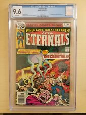 ETERNALS #2 CGC 9.6 White Pages 1st Ajak and Celestials NM+