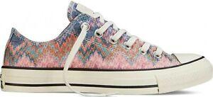 Converse Missoni Egret/Multi Low Top Sneakers #147338F Unisex  US Size M/9, W/11