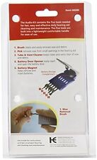 4 Pack - Acu-life Hearing Aid Audio Cleaner Cleaning Kit Tool 1 Each