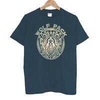Twilight Saga New Moon Wolf Pack Mens T-Shirt Size Small Black