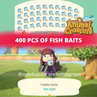 400 Fish Baits for Animal Crossing New Horizons ACNH Switch Tournament