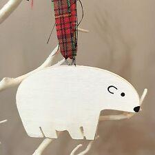 ORSO Polare Da Appendere Decorazione. Natale Decor. shabby chic, Artic