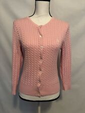 5b6afc5ff6 Ralph Lauren Sport Women s Cardigan Sweater Size M Cable Knit Cotton