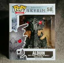 "Skyrim - Alduin 6"" #58 Funko Pop Vinyl Figure RARE The Elder Scrolls V"