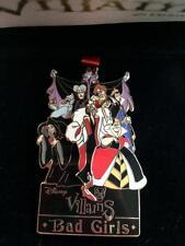 Disney Bad Girls Villain Maleficent Evil Queen Hearts Old Hag Pin NEW in Box