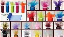 Organza Rolls Shimmering Sparkle Shiny Candy Gift Wrap Wedding Bridal BabyShower