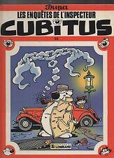 CUBITUS n°22. Les enquêtes de l'inspecteur.  DUPA. Lombard EO 1990. TTB