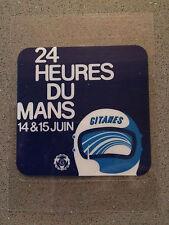 Le Mans 24 Heures Du Mans 14-15 Juin 1975 Vintage Sticker