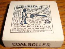 1920's Coal Roller Pills NOS in Box  Drug Store Pharmacy Black Americana Item